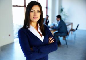 Professional Women Managing Men