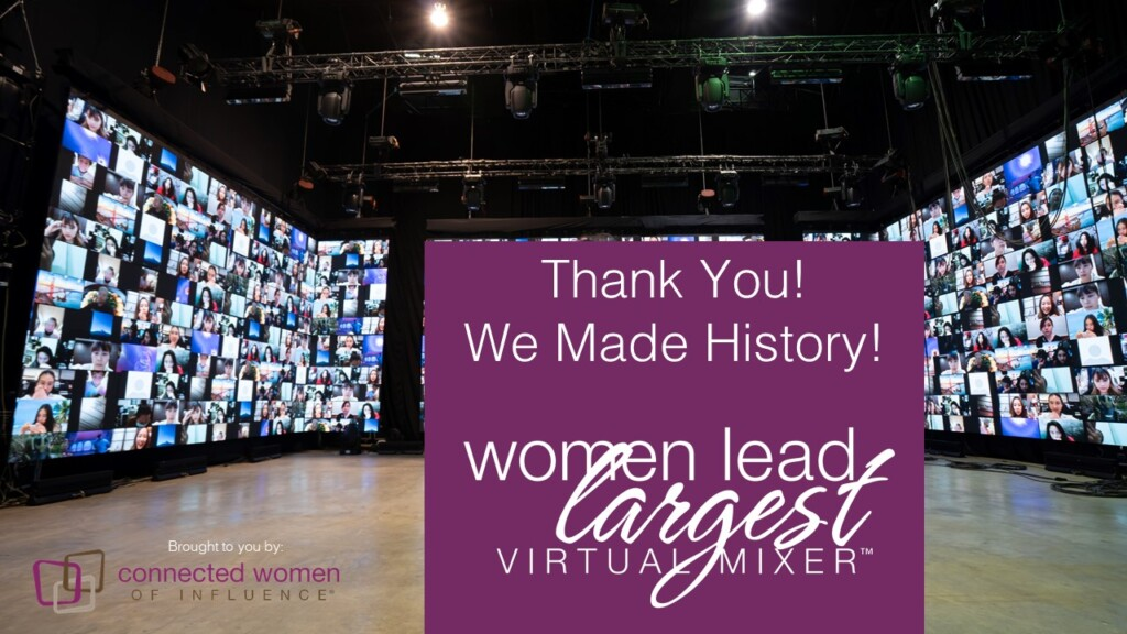 Making History for Women's History Month!